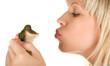 Girl and Frog