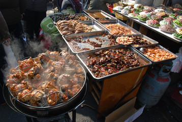 China - Shanghai marketplace
