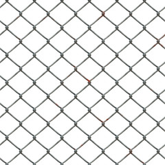High-res chain link fence pattern - seamless