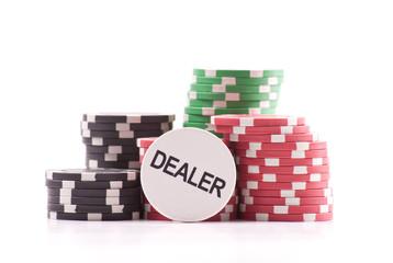The Dealer Casino Poker Chip