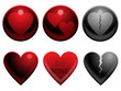 Love buttons