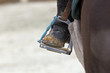 Closeup of a Riding Stirrup