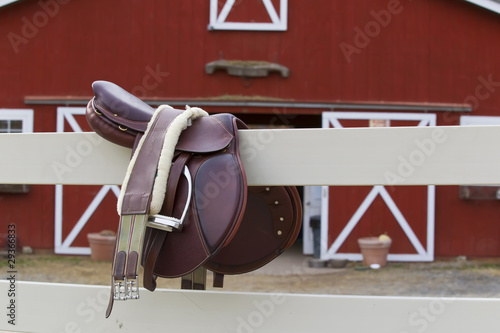 Riders Saddle