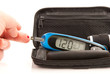 glucose level blood test using ultra mini glucometer