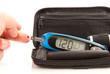 glucose level blood test using ultra mini glucometer