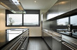 modern kitchen, interior, nobody around