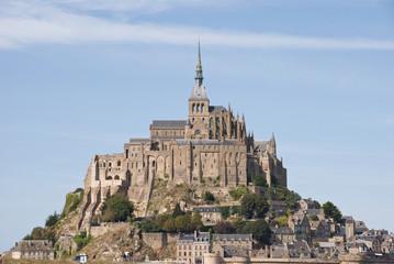 Mont Saint Michel, Bretaña, Francia.