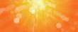Helles Sonnenlicht gelb-orange