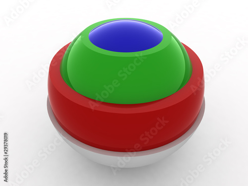 color ball INSIDE