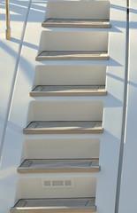 escalier de yacht