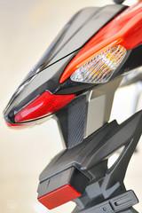 Motorbike back details