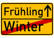 Winter -> Frühling