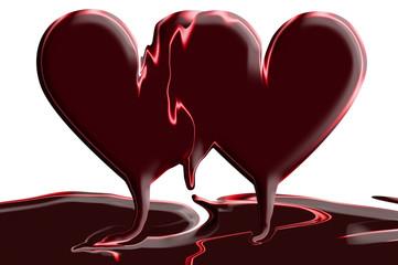 Hearts - Chocolate