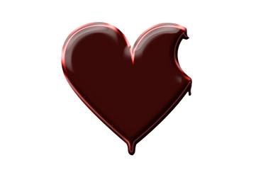 Hearts - Chocolate bite
