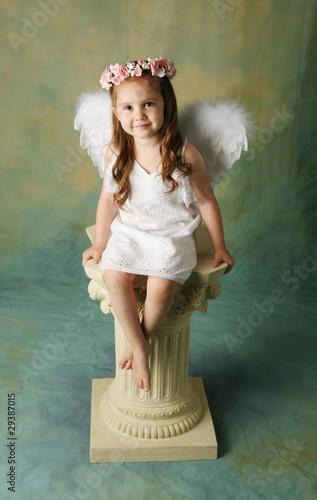Little Angel Girl