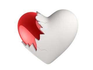 zerbrochenes Herz