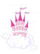Vector fantasy castle