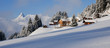 Winterlandschaft in den Alpen - 29388610