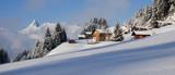 Fototapety Winterlandschaft in den Alpen