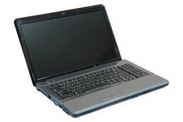 Dark grey notebook (laptop)