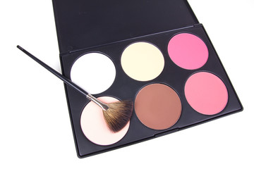 Professional make-up corrector  with make-up brush