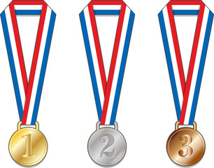 Medaglia medaglie Francia