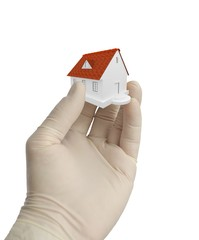 3d home on the hand