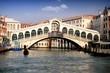 Gran Canal y Puente Rialto, Venecia.
