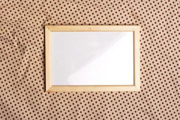 photoframe on glamour pattern