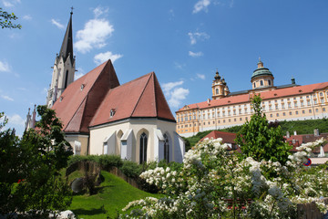 Stift Melk, famous monastery in Austria, near Vienna