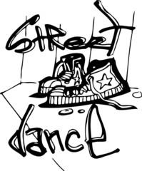 Strit dance.Dancing.