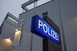 Leinwandbild Motiv Polizeiwache