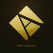 logo entreprise, lettre a