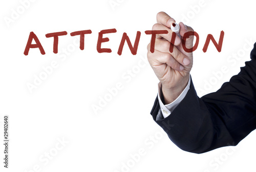 attention mis en emphase en entreprise