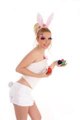 sexy Bunny mit Eier