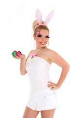 sexy Bunny mit Ostereier