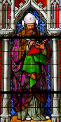 Saint Augustinus, Latin church father and famous philosopher