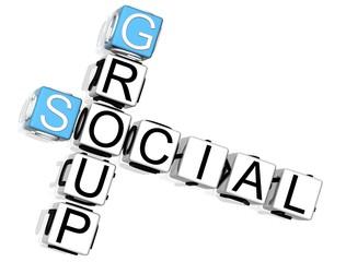Social Group Crossword