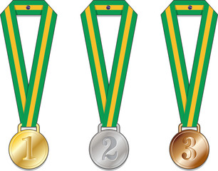 Brasile Medaglia Medaglie