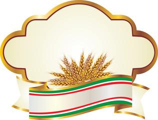 Etichetta pasta e farina di grano duro