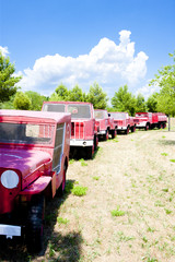 fire engines, Provence, France