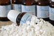 Leinwanddruck Bild - Schüsslersalze Alternativmedizin Nahrungsergänzungsmittel