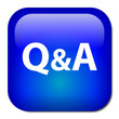 """Q&A"" Web Button (questions and answers help assistance faqs)"
