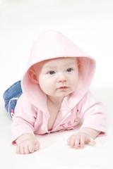 baby girl's portrait
