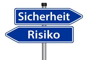 Sicherheit vs. Risiko