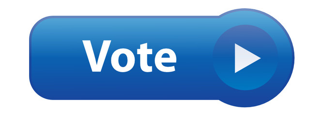 """VOTE"" Button (share internet web social network recommend like)"