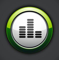 icône equalizer musique