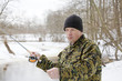 Winter fly-fishing