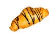 Croissant mit Schoko-Überzug