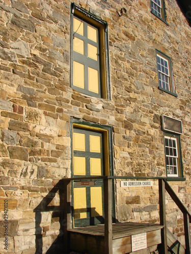 Old Amish Stone Mill Facade